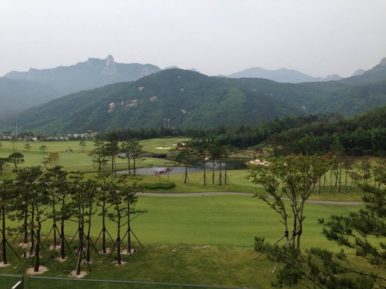 Delpino Golf & Resort: view from our room