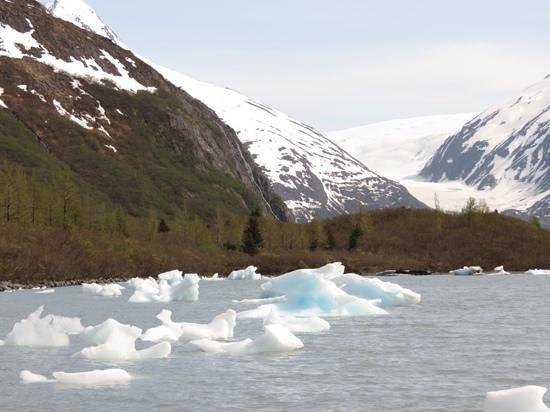Portage Glacier: Breathtaking!!!!