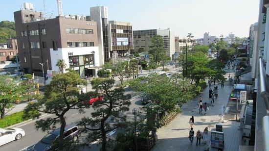 Hotel Kamakura Mori: View from Balcony