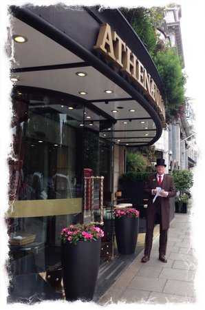 The Athenaeum Hotel & Residences: The doorman is very funny