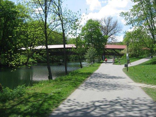 Hotel Stadt Tuttlingen: Река дунай