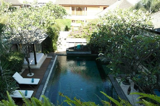 The Residence Seminyak: view from 2nd floor