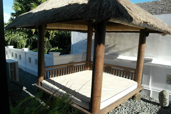 The Residence Seminyak: gazebo on 2nd floor