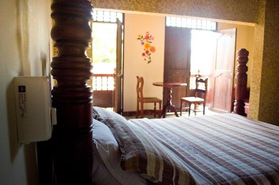 Casa Morales Santa Fe: Interior d ela habitación