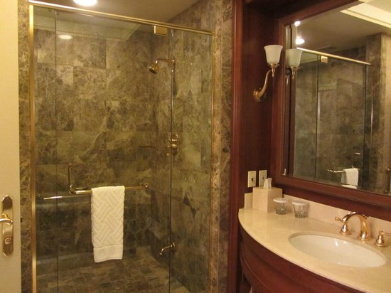 Hilton Lac-Leamy: Spacious and comfortable shower room