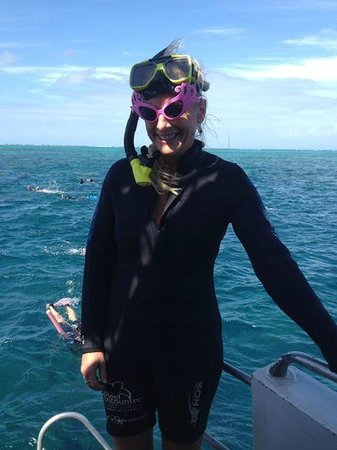 Reef Experience: Bucket list glasses firmy attached