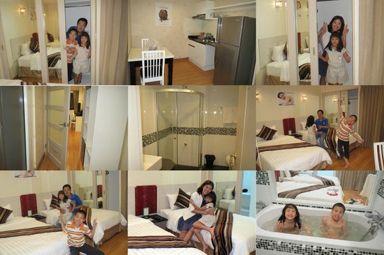 iCheck Inn Residences Sathorn: great room, clean spacious, and comfortable