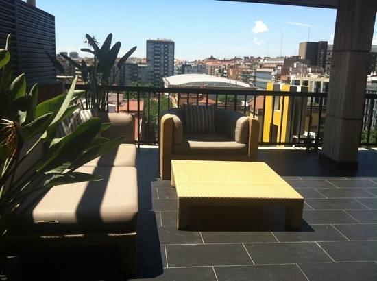 U232 Hotel: la terrasse