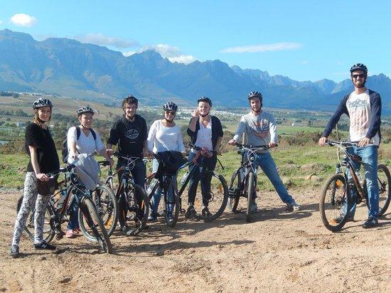 Bikes 'n Wines : In de wijngaard