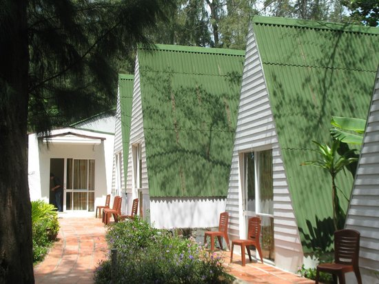Con Dao Camping: Sea view bungalows