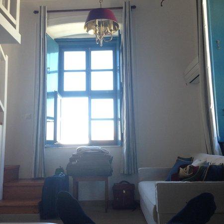 Orloff Boutique Hotel: В это окно смотрел граф Орлов