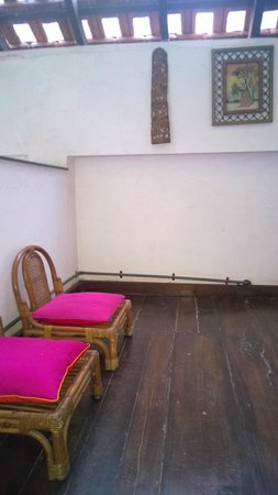 Neemrana's Arco Iris Noble Home : We used this for Yoga / Meditation. Attached to the Indigo room