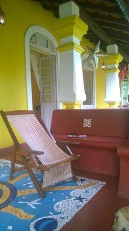 Neemrana's Arco Iris Noble Home : At the entrance