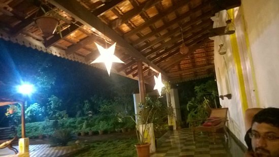 Neemrana's Arco Iris Noble Home: A great place to have beer in the evening