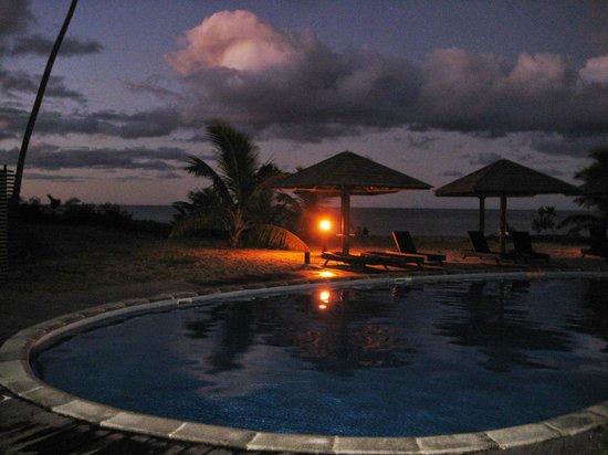 Hôtel Tieti Poindimié: Terrasse piscine