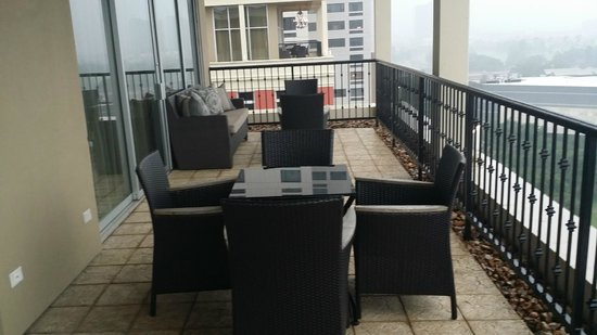Hotel ZaZa Houston: Balcony
