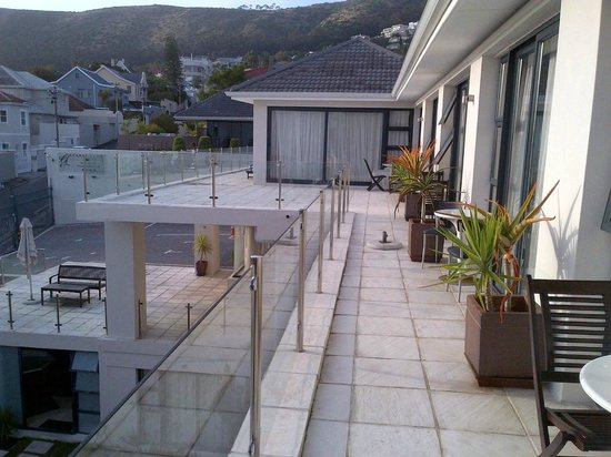 Grande Kloof Boutique Hotel: view from room 303
