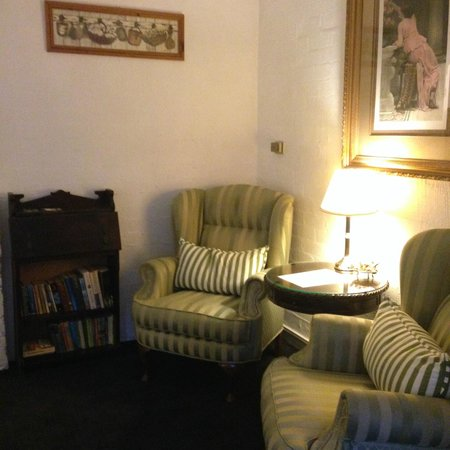 The Loft In The Mill Boutique Accommodation: Reading corner