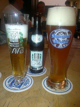 Augustiner-Keller: un assaggio di birra