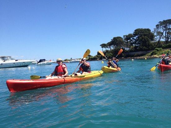 Kayak Evasion Antibes