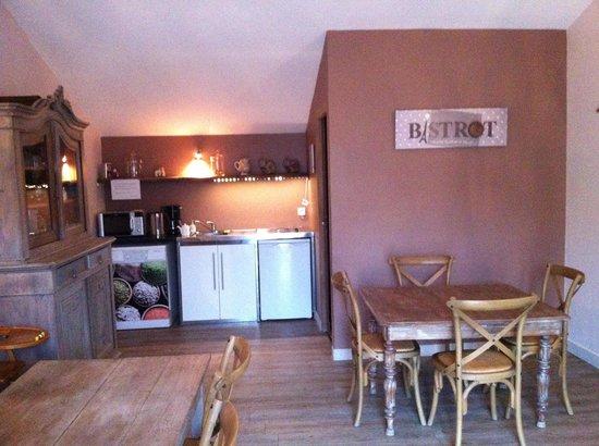 La Marette : salle petit déjeuner