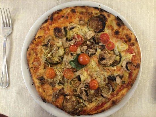 Dal Cozzaro : Pizza vegetariana