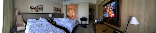 Mandarin Oriental, Miami: Panoramic view of a Deluxe Bay View Room