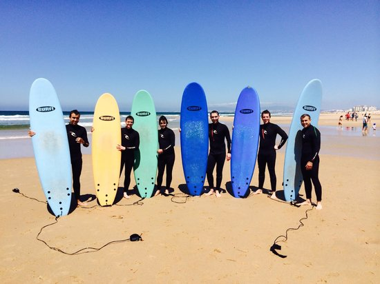 Epic Surf School: Great morning surfing!