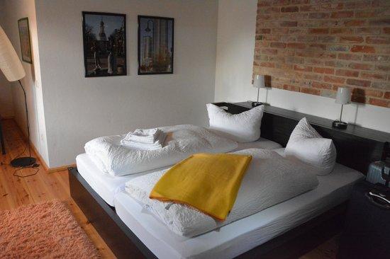 Waddewarden, Germany: Very cozy beds