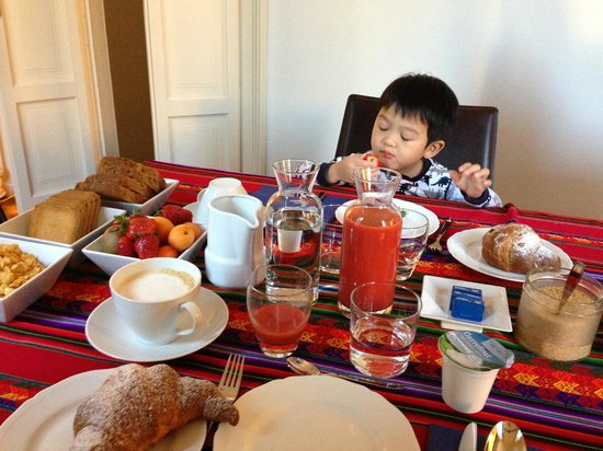Belcanto B&B: 很豐富的早餐