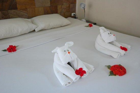 Noren Resort: Cute welcoming in bungalow
