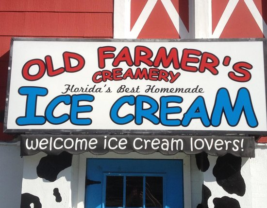 Old Farmer's Creamery: Welcome ice cream lovers