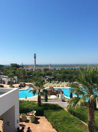 Hotel Fuerte el Rompido: Vista desde la terraza de la habitación