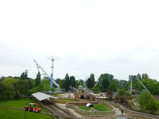 Pleasure Island: View from the Mini Mine Train Coaster