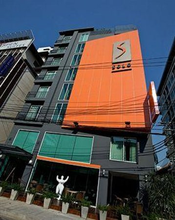 Hotel Solo Sukhumvit 2: hotel front