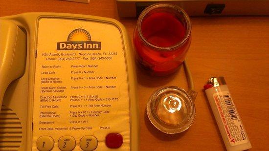 Days Inn Neptune Jacksonville Beach Mayport Mayo Clinic NE: Dirty Phone & Bad Stand