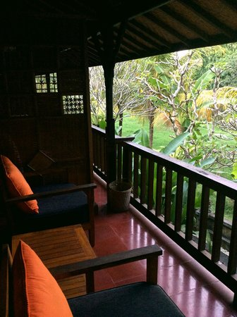 Jati Home Stay: outside my room