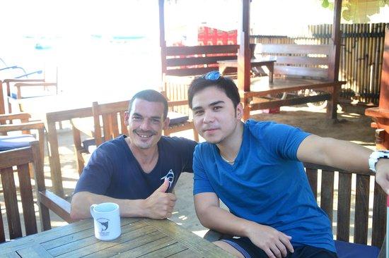 Blue Marlin Dive Gili Trawangan: Fitz & Daniel (COOL)