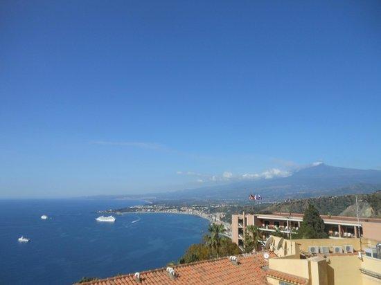 Elios Hotel : uitzicht vanaf de kamer