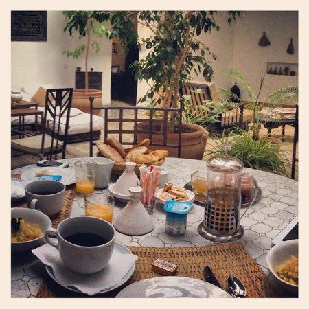 Riad Danka : Petits déjeuners