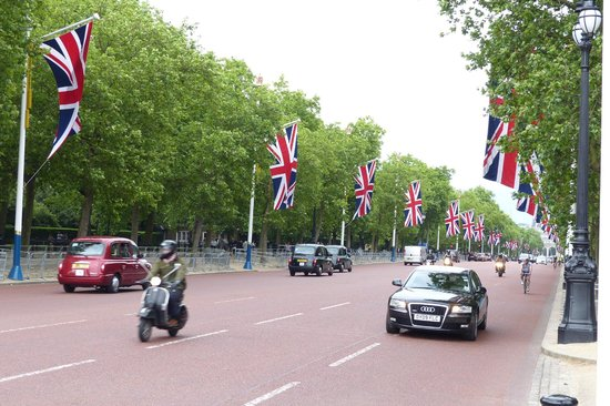 The Mall in central London