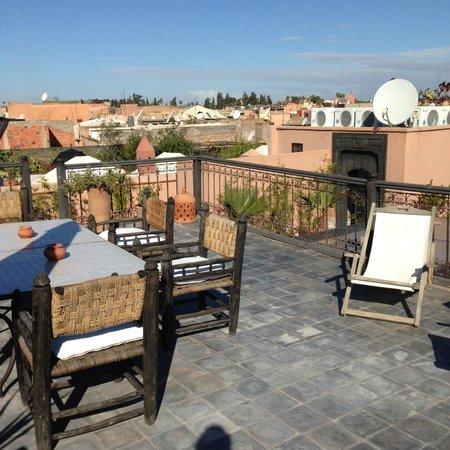 Ryad Chantaco : La terrasse