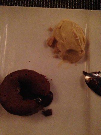 Accés: chocolate coulant  mmmmmmm.......