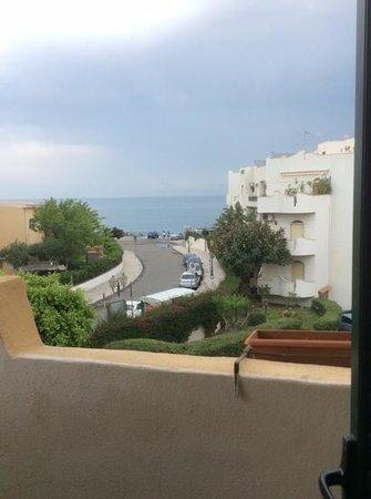 Villa Linda : вид с балкона