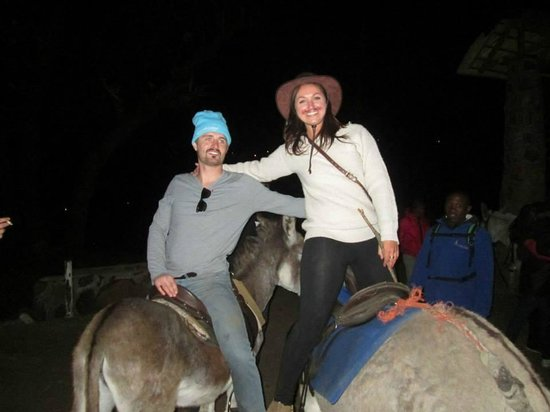Semonkong Lodge: donkey pub crawl
