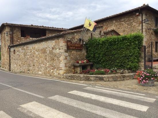 Hotel Belvedere Di San Leonino: entrance