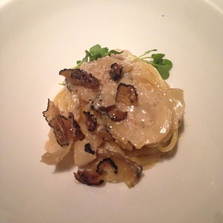 Highlight of N/naka: spaghetti abalone and truffle! Say what????