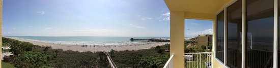 Best Western Cocoa Beach Hotel & Suites : Panoramic view from the balcony