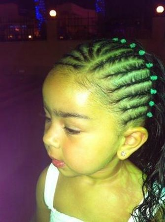 Braids   Beads  1 2 hair braiding using waterproof wax so hair stas perfect a8dc3a04b94b