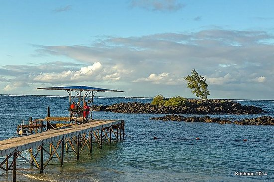 Constance Belle Mare Plage : Another view of the Pier